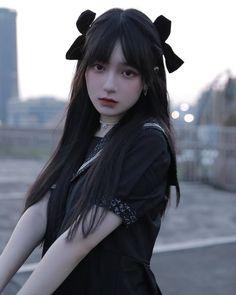 Pretty Korean Girls, Korean Beauty Girls, Cute Korean Girl, Asian Beauty, Cute Kawaii Girl, Cute Girl Face, Pelo Anime, Korean Girl Photo, Girl Korea