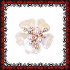 Martisor Brosa Vals de Primavara Brooch, Jewelry, See Through, Waltz Dance, Bead, Jewlery, Jewerly, Brooches, Schmuck