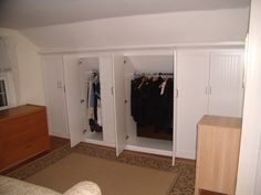 Attic Bedroom Closet Design, Pictures, Remodel, Decor and Ideas - page 76