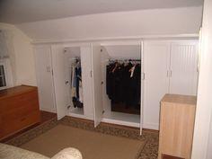Inexpensive Attic storage in florida,Attic remodel okc and Attic bedroom house for sale. Attic Bedroom Closets, Attic Closet, Bedroom Closet Design, Upstairs Bedroom, Closet Designs, Closet Bedroom, Attic Bathroom, Attic Office, Attic Playroom