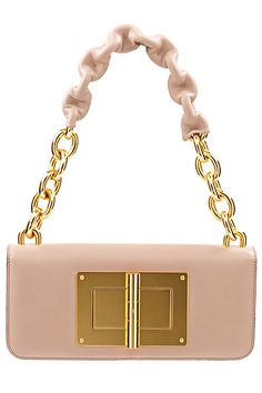 Tom ford blush bag with gold hardware No words, Stunning! Tom Ford, Toms, Chanel, Beautiful Bags, Purses And Handbags, Pink Handbags, My Bags, Evening Bags, Pink And Gold