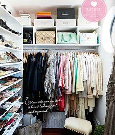 VINTAGE & CHIC: decoración vintage para tu casa · vintage home decor: La casa perfecta del perfecto vestidor · The perfect home with the perfect closet