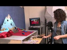 A video that explains the process of Stop Motion Animation using clay.  Discussion Questions: What did the artist say was important when moving objects?  What is the first step when you go to make a part of your set move?  Kirsten Lepore | KQED Arts - YouTube