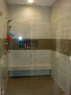 awesome walkin shower
