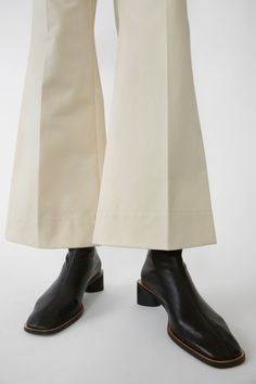 Acne Studios - Branded ankle boots Black/black