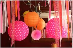 girly pumpkin princess tea party decorations picture 3