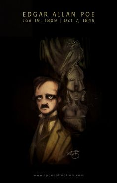 Edgar Allan Poe  [illustration by David G. Forés]
