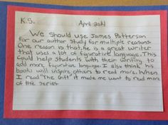 "Author Study Book Clubs. As the year begins to wind down and spring fever enters into the hearts and minds of my students, I begin to ponder what June will look like. Students are excited about the warmer weather and all that comes with it. A question I ask myself every spring is, ""How do I keep my students engaged and motivated, especially after testing?"