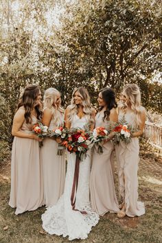 Sacred mountain Julian wedding, bridesmaid inspiration, boho bridesmaid inspiration, light colored bridesmaid dresses, pink bridesmaid dresses The Effective Pictures We Offer You About Boho Wedding pictures A quality picture can Read Fall Wedding Bridesmaids, Brides And Bridesmaids, Boho Wedding, Dream Wedding, Rustic Beach Weddings, Wedding Colora, Bride And Bridesmaid Pictures, Pink Weddings, Barn Weddings