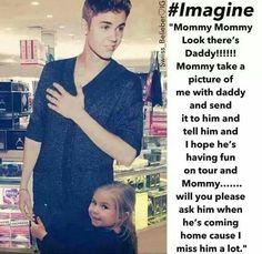 Imagine : Justin Bieber ~ Cute ~ Daughter