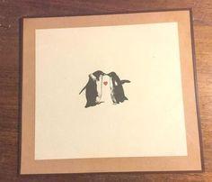 "Penguin Love (12"" x 12"")"