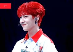 (i) Kak Eunsang ✓ Hair Gif, Antara, Red Hair, Rapper, Singing, Korea, Wattpad, Thing 1, Kpop