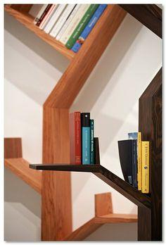 ריהוט: עץ הספרים // kostas syrtariotis >> | arcHeb | מגאזין חדשות יומי לאדריכלות ועיצוב בעברית!