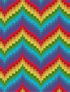 Bargello Quilts: 3 Basic Steps to Make Any Bargello Quilt - QuiltNotes