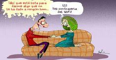 Garrincha parejas WiFi | Caricaturas - Yahoo Noticias en Español