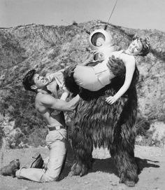 Still from the movie Robot Monster