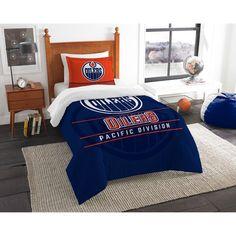 Edmonton Oilers The Northwest Company NHL Draft Twin Comforter Set
