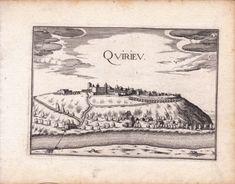 Gravure-XVIIe-Chateau-de-Quirieu-Bouvesse-Quirieu-Christophe-Tassin-1634