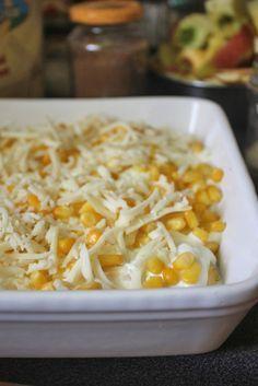 Kukoricás-sajtos rakott tojás