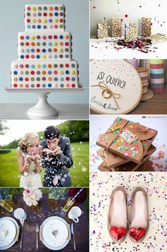 weddingstylist confetti inspirationwedding .