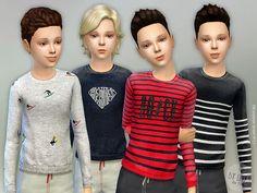 Designer Shirt P11 by lillka at TSR • Sims 4 Updates