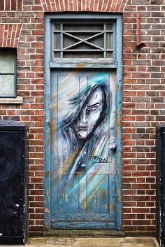 Whitecross Street, London, England #street art #graffiti