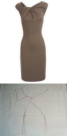 Мастер-класс по изготовлению платья с драпировкой. - Sudarikova Nika