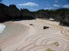Sam Dougados and the Bermuda Beach Art Festival