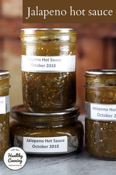 Canned Jalapeno Hot Sauce Recipe, Canned Jalapenos, Hot Sauce Recipes, Grill Recipes, Cayenne Pepper Sauce, Smoked Jalapeno, Dill Pickle Relish, Home Canning, Stuffed Jalapeno Peppers