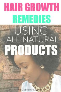 Using all natural hair products. Easy to follow method for women of all hair types.. #hairremedies #naturalhaircare All Natural Hair Products, How To Grow Natural Hair, Natural Haircare, Natural Hair Styles, Long Hair Styles, Natural Hair Growth Remedies, Hair Growth Tips, Latest Hairstyles, Protective Styles