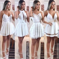 Pin by Carolinasanchez on Cumpleaños in 2019 Prom Outfits, Teen Fashion Outfits, Stylish Outfits, Fashion Dresses, Junior Prom Dresses, Homecoming Dresses, Cute Dresses, Casual Dresses, Cozy Fashion