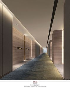 Everyone needs to go out and enjoy a good restaurant or hotel. Luxurious spaces to relax this 2019 new yea! See more clicking on the image. Hall Hotel, Hotel Hallway, Hotel Corridor, Luxury Hotel Design, Hotel Lobby Design, Luxury Restaurant, Restaurant Interior Design, Corridor Lighting, Halls
