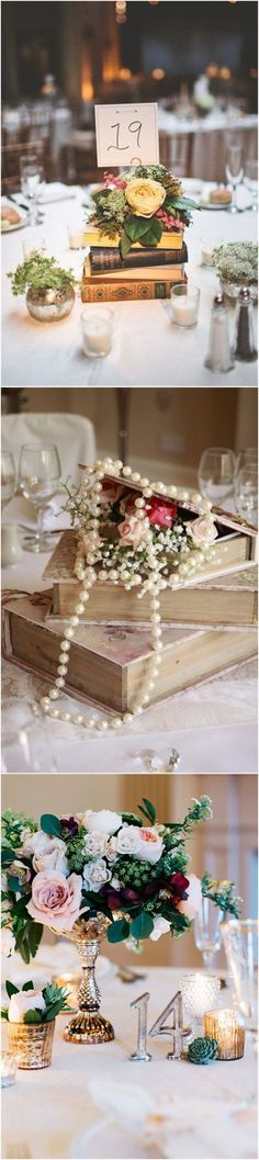 Vintage Weddings»26 Vintage Wedding Centerpieces That Take Your    Wedding to a New Level