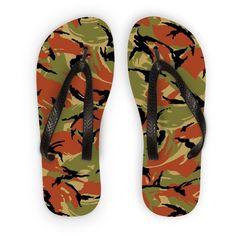 Oman DPM CAMO Flip Flops