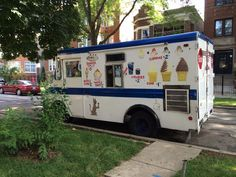 This ice cream guy wonders why we are in his Albany Park neighborhood at 3244 W. Eastwood Avenue.