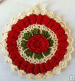 http://www.MaggiesCrochet.com   Vintage Fashion Potholders