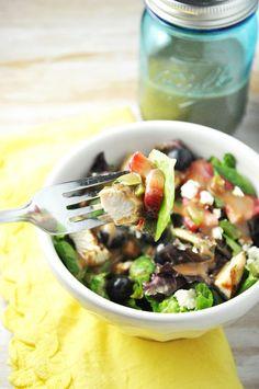 chicken & berry salad