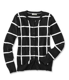 Just found this Windowpane-Check Cotton Cardigan Sweater - Windowpane-Check Cotton Cardigan -- Orvis on Orvis.com!