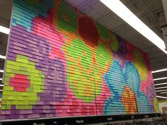 Post it art!!