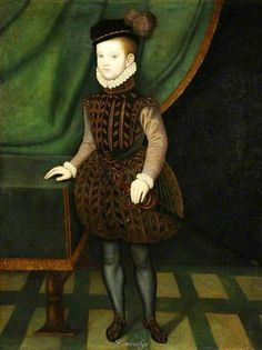 Charles Stuart, Later 5th Earl of Lennox, c.1565, by an Unknown British Artist