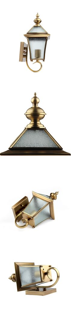 The polished finish is so eye-catching and beautiful. It can be for both indoor lighting and outdoor light.