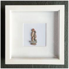 guijarro arte decoración de piedra fotos por Rebeccasbeachdesigns