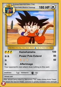 Goku (Korin's Training)