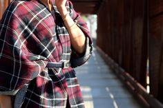 Rocks Fashion Bug: Macy's Fall Trends For You #mavyslove #macystrendboxfw15 #ootd #poncho #plaid #llblog