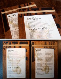 State and Lake restaurant in Chicago by Boy Burns Barn NYC Restaurant Identity, Menu Restaurant, Graphic Design Layouts, Layout Design, Gastro Pubs, Graphic Projects, Cocktail Menu, Bar Menu, Design Research