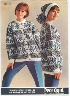 Bjørgsæter 810 S Norwegian Knitting, Knits, Tunic Tops, Craft Ideas, Sweater, Blouse, My Style, Creative, Pictures