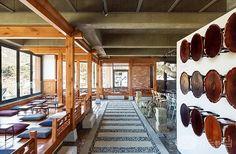 Korean Bar, Shoe Rack, Restaurant, Traditional, Architecture, Interior, Furniture, Ideas, Home