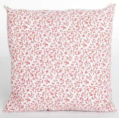 Red Linen Flower Cushion - - Hicks and Hicks Cushions, Quilts, Blanket, Flower, Interior, Red, Throw Pillows, Toss Pillows, Indoor