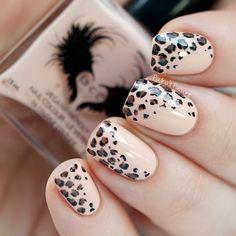 Nude Leopard Print Nails | Paulina's Passions | Bloglovin'