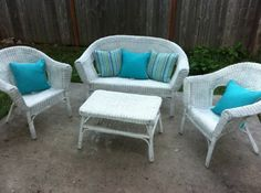 Patio Furniture Seat Cushion Covers - Home Furniture Design Plastic Patio Furniture, Patio Furniture Cushions, Patio Furniture Covers, Seat Cushions, Outdoor Furniture Sets, Furniture Design, Patio Accessories, Outdoor Chairs, Outdoor Decor